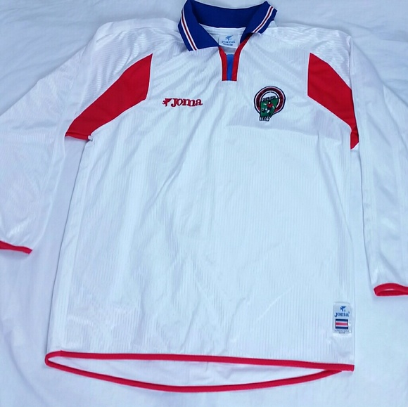 8208b0fc949 Joma Other - JOMA World Cup Costa Rica National Soccer Jersey L